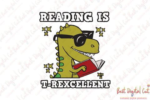 Reading is T-rexcellent, dinosaur svg,dinosaur shirt, dinosaur reading book, back to school, back to school shirt,love book, back to school gift, teacher shirt, teacher svg, student