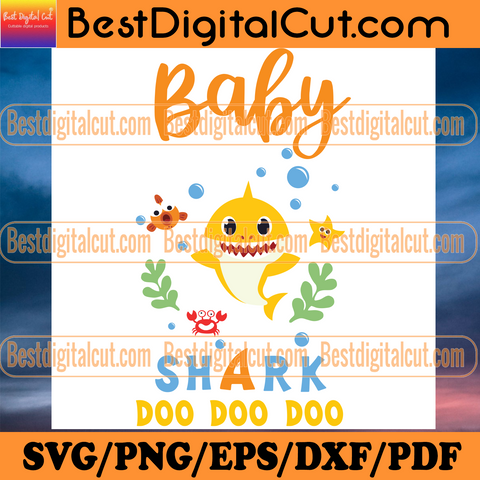 Orange Baby Shark Doo Doo Doo Svg, Trending Svg, Baby Shark Svg, Kid Song Svg, Baby Shark Clipart, Baby Shark Vector, Shark Svg, Kid Svg, Children Svg, Cute Shark Svg, Ocean Svg, Sea Svg