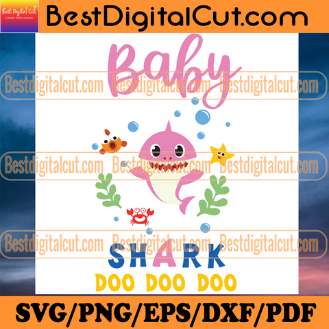 Pink Baby Shark Doo Doo Doo Svg, Trending Svg, Baby Shark Svg, Kid Song Svg, Baby Shark Clipart, Baby Shark Vector, Shark Svg, Kid Svg, Children Svg, Cute Shark Svg, Ocean Svg, Sea Svg