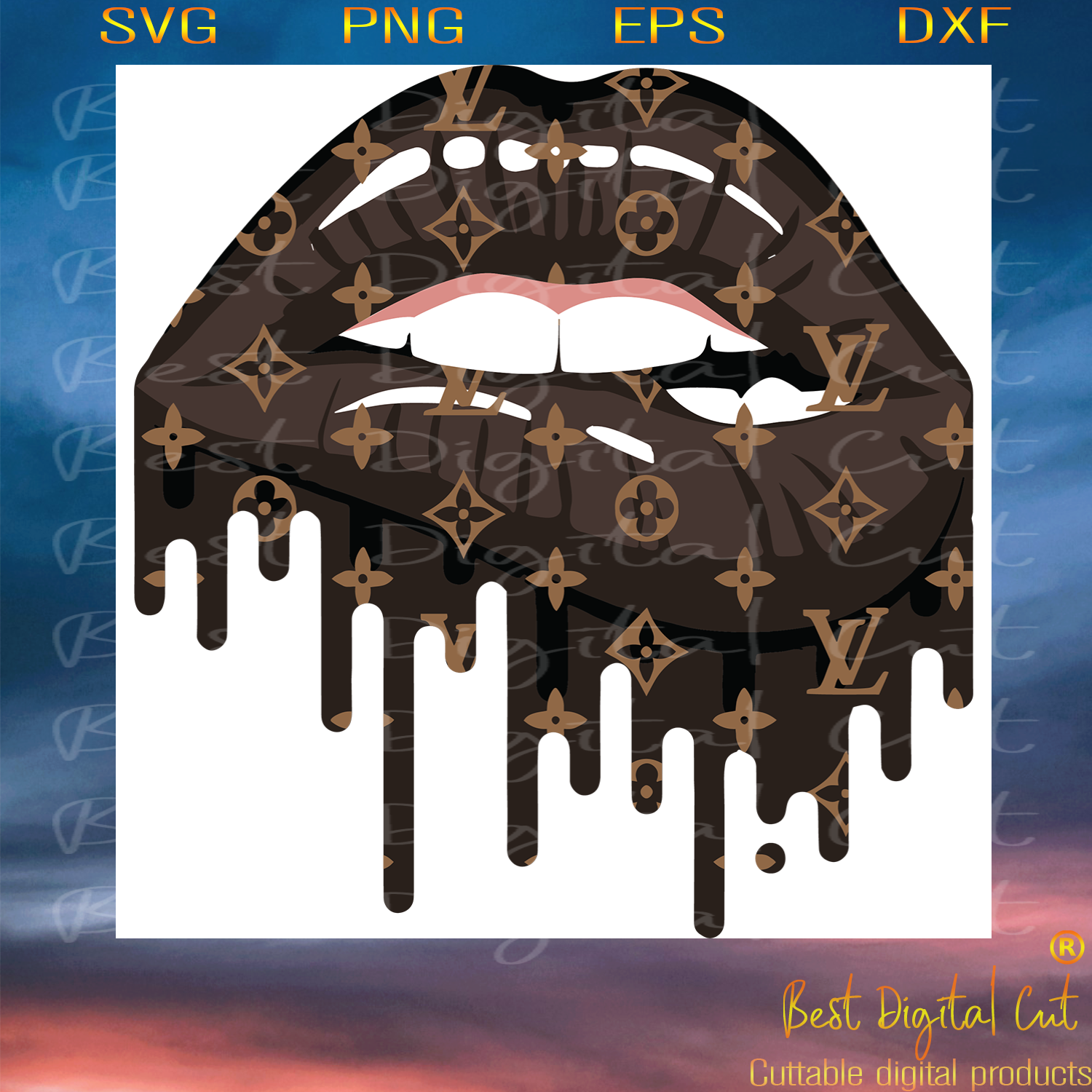 Sexy Lv Lip Logo Trending Svg Lv Lip Logo Svg Louis Vuitton Svg Lv Best Digital Cut