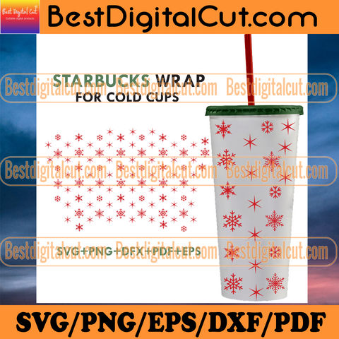 Starbuck Winter Wrap For Cold Cups Svg, Trending Svg, Winter Starbuck Svg, Full Wrap Starbuck Svg, Snowflake Starbuck Svg, Starbuck Svg, Starbuck Cup Svg, Starbuck Coffee Svg, Starbuck Wrap Svg