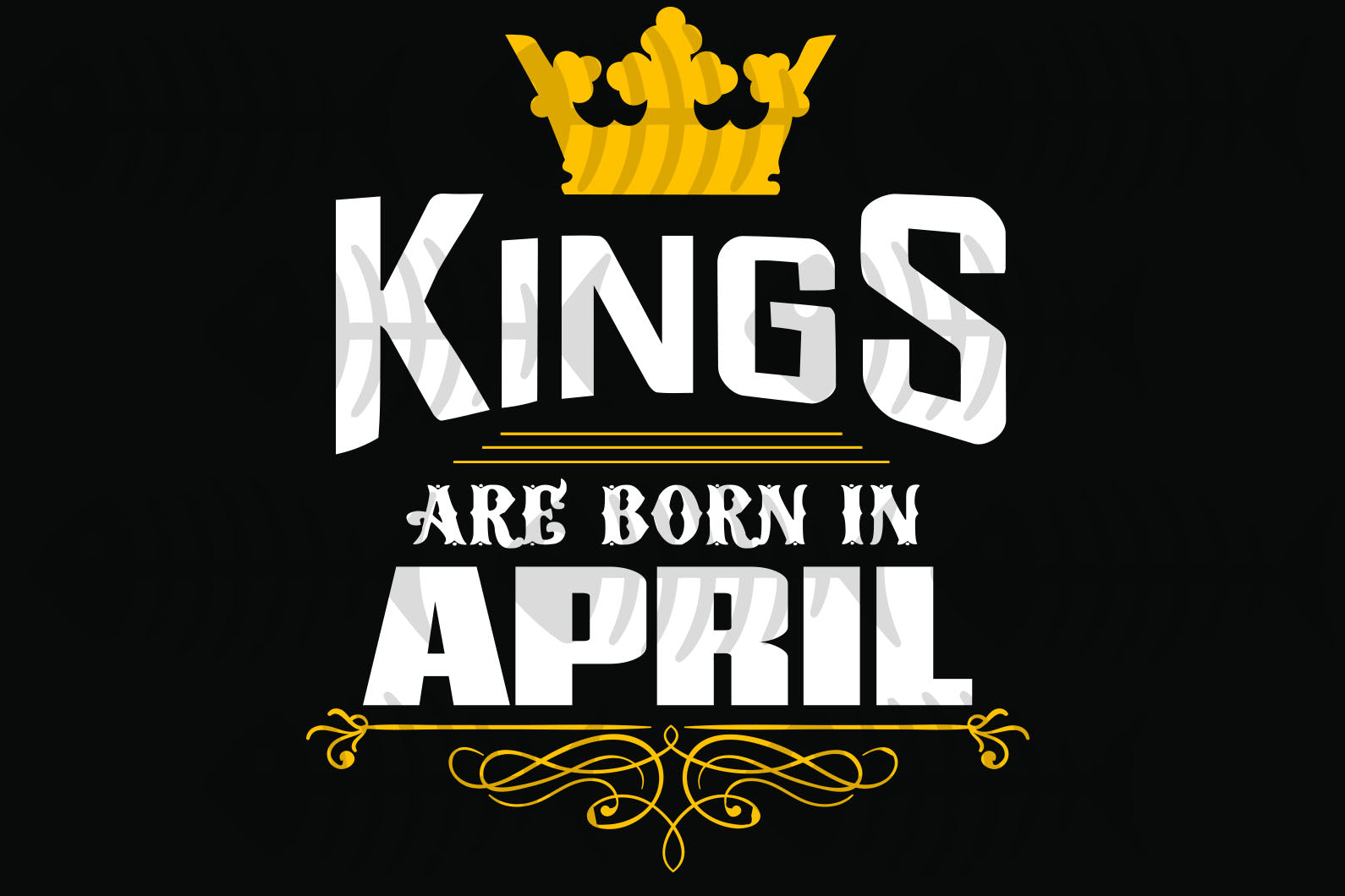 Kings are born in April, April girl svg, born in April , living my best life, April birthday, April girl shirt, April svg, April gift, April girl gifts, black girl svg, birthday svg, black lives matter, svg cut files, svg clipart,