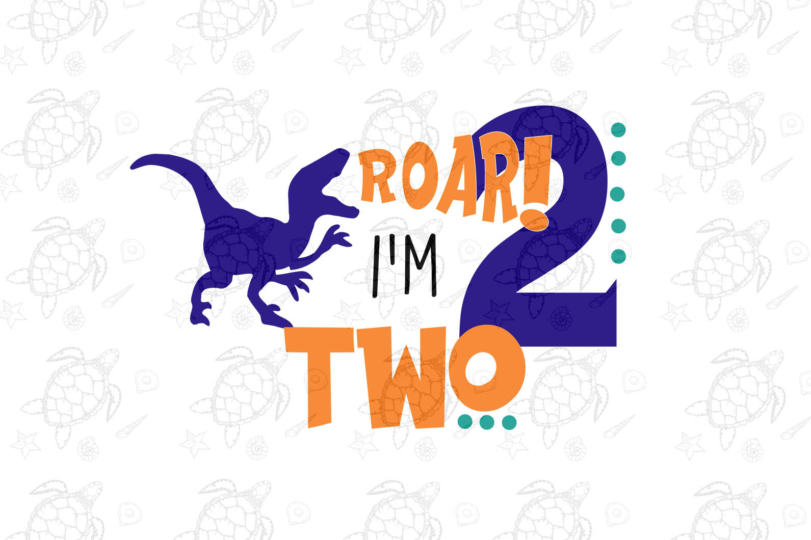 I'm two hear me roar, born in 2018, 2017 svg, 2nd birthday party, 2nd birthday gift, birthday shirt, birthday anniversary, dinosaur, dinosaur svg, dinosaur birthday, gift for kids, gift from parents, digital file, vinyl for cricut,