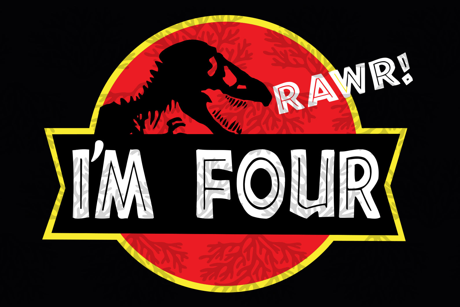 I am four rawr,dinosaur svg,birthday svg,birthday boy svg,4st birthday,birthday anniversary,svg cut files, svg clipart, silhouette svg, cricut svg files, decal and vinyl