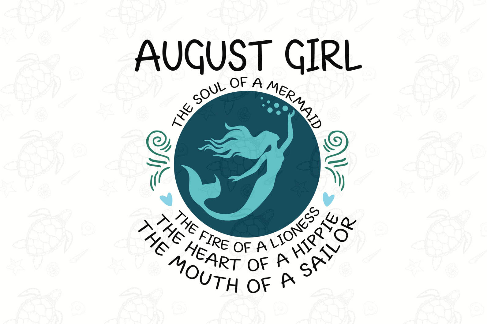 August girl svg,August girl svg,hippie svg,sailor gift,lioness gift,mermaid gift svg, born in  August birthday, born in August, August birthday shirt,August gift, svg cut files,digital file, vinyl for cricut,