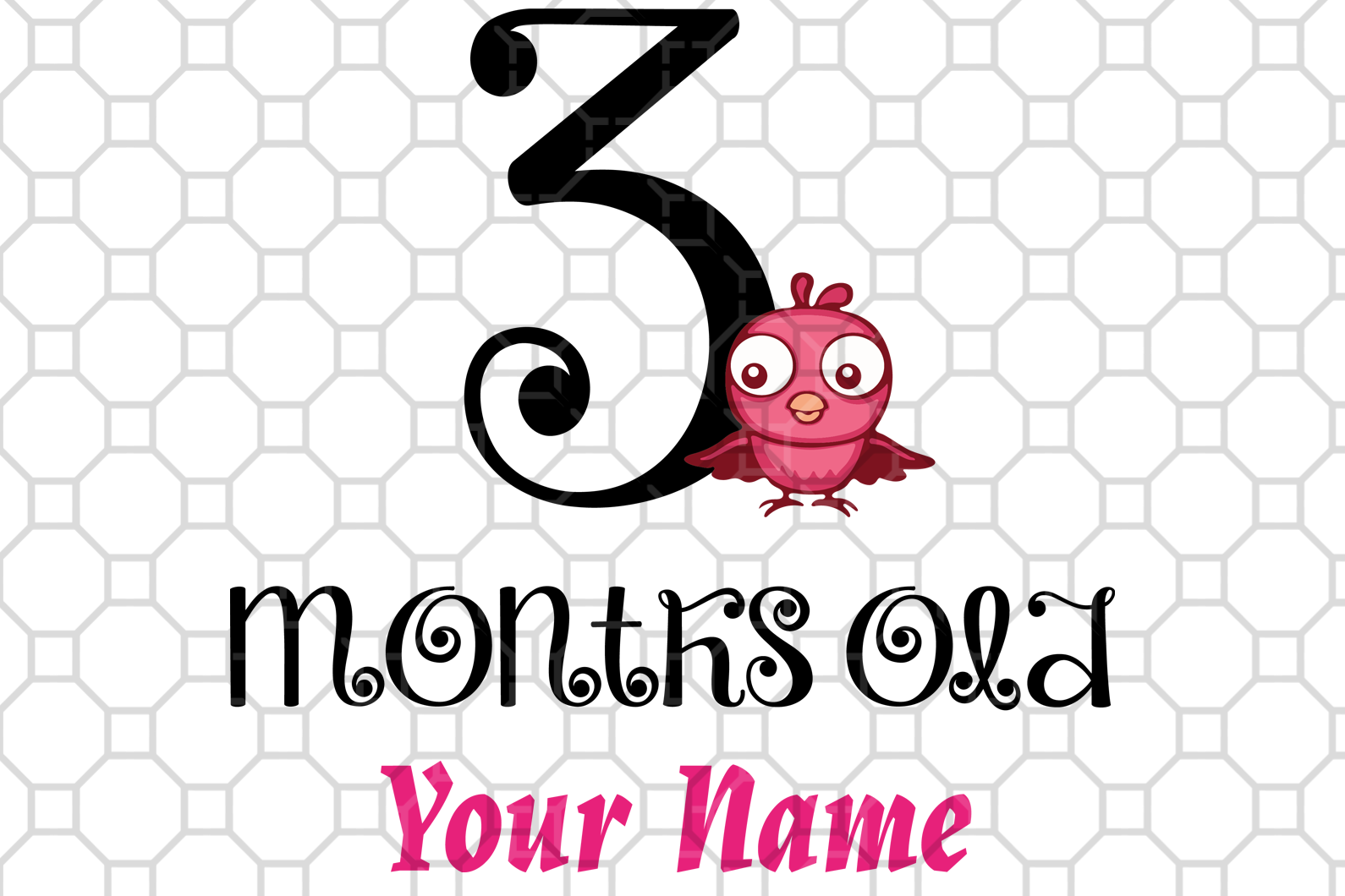 3 months old svg,custom shirt,custom gift,custom birthday,birthday svg,happy birthday svg,birthday gift ideas,3 years svg,3rd birthday,digital file, vinyl for cricut,