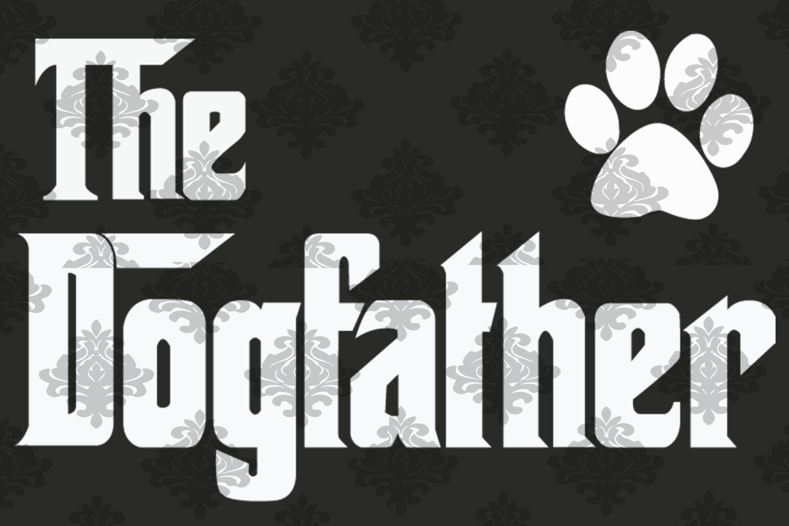 The dogfather svg,dog dad, dog dad gift, dad gift, gift for dad, love dad, lover dog, fathers day svg,gift for fathers day, dog lover gift,digital file, vinyl for cricut, svg cut files, svg clipart, silhouette svg, cricut svg files,
