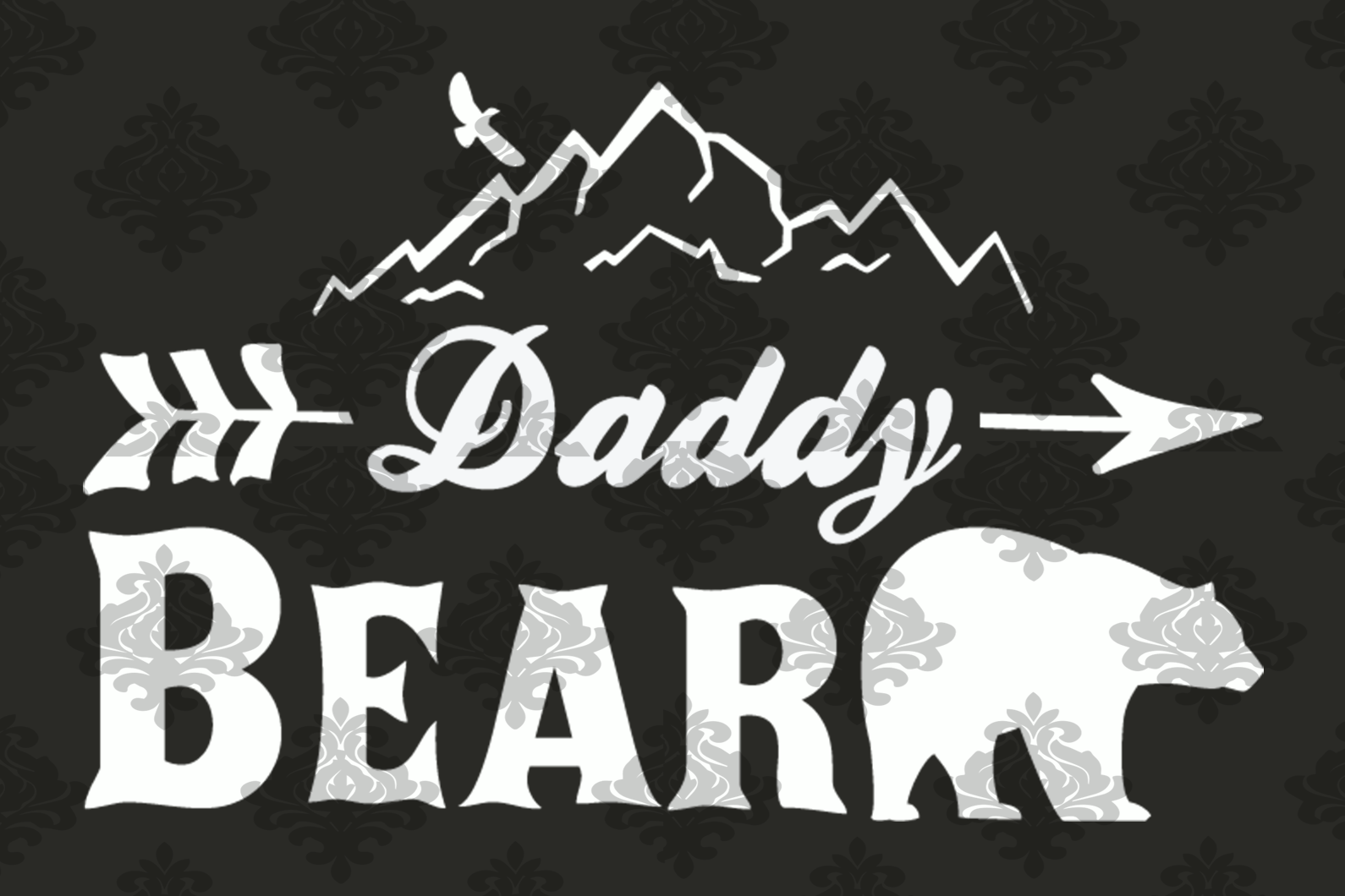 Daddy bear svg, Grizzly bear, Panda bear, family bears svg, family svg, family gift, gift for dad, mommy bear svg, bears lover, svg files for cricut, svg files