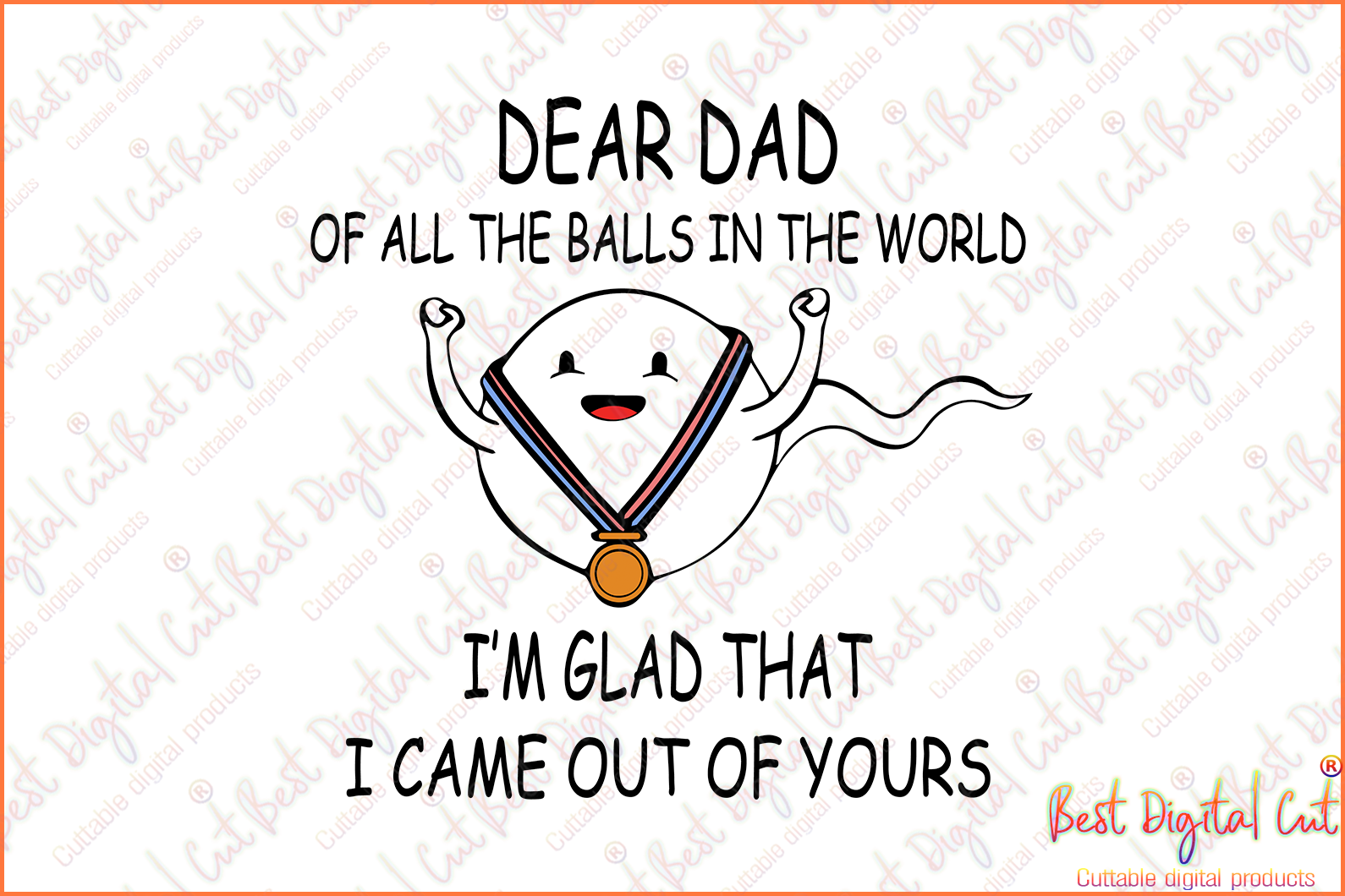 Dear Dad of all the balls in the world,appy father's day,father's day svg,new dad svg,dad clipart,love father,father gift,fathers day shirt, gift for father,happy fathers day gift,daddy svg,love daddy, best daddy ever, best daddy, best gift,hero svg
