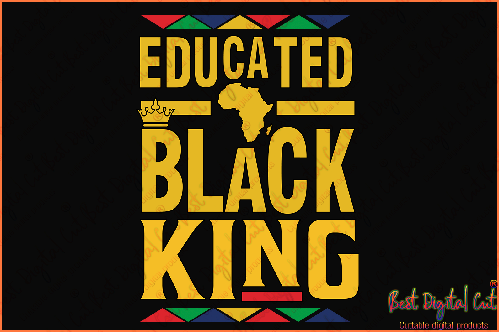 Educated black king svg,black king svg,king svg,black educators svg,black teachers,school svg,American new,black man svg,police officer,killing svg,vilence svg,protester American,silhouette svg, cricut svg files, decal and vinyl,