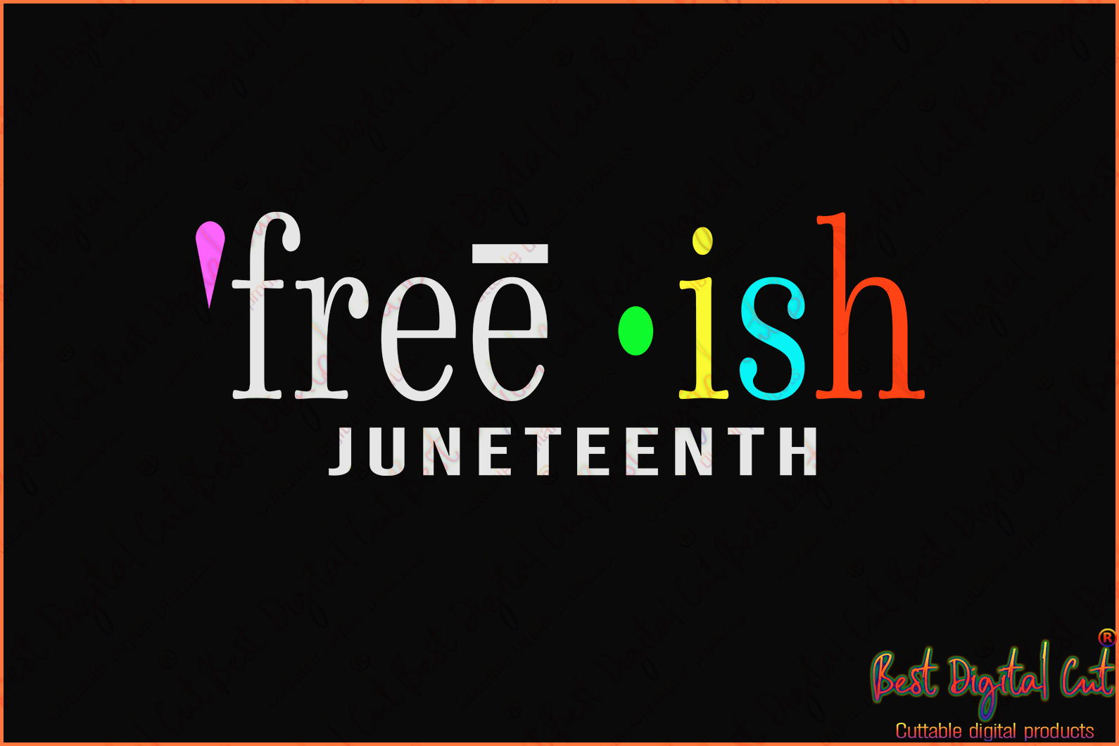 Free-ish juneteenth svg,freedom day svg,June 19th svg,emancipation day svg,1776 July 4th,independence day svg,black African hands,American pride gift,black lives matter shirt,black history month,silhouette svg, cricut svg files, decal and vinyl,