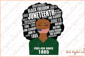 Free-ish since 1865 juneteenth svg,freedom day svg,June 19th svg,emancipation day svg,1776 July 4th,independence day svg,black African hands,American pride gift,black lives matter shirt,black history month,silhouette svg,