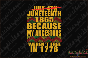 Juneteenth 1865 because my ancest svg,freedom day svg,jubilee day svg,American holiday,June 19th svg,1776 July 4th,emancipation day svg,independence day svg,black African hands,American pride gift,black lives matter shirt,black history month