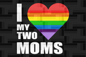 I love my two moms,lgbt svg,lgbt heart svg,lgbt mom gift, pride mom shirt,trans awareness svg,pride gay shirt, pride lesbian svg, rainbow love, gift for mom, love mom, besexual svg, lesbian love,