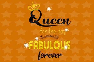 Queen for the day fabulous forever,living my best life,birthday anniversary, black girl svg, birthday svg, black lives matter, svg cut files, svg clipart, silhouette svg, cricut svg files, decal and vinyl,