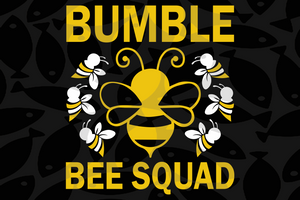 Bumble bee squad svg,Bee queen,bee svg,bee squad svg, bee clipart, bee lover, be queen svg,love bee queen,digital file, vinyl for cricut, svg cut files, svg clipart, silhouette svg