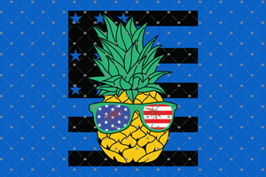 pineapple glasses svg,4th of july svg,fourth of july svg,pineapple svg,glasses svg,independence day svg,fourth july svg,patriot svg,american flag svg,US flag svg,digital file, vinyl for cricut, svg cut files,