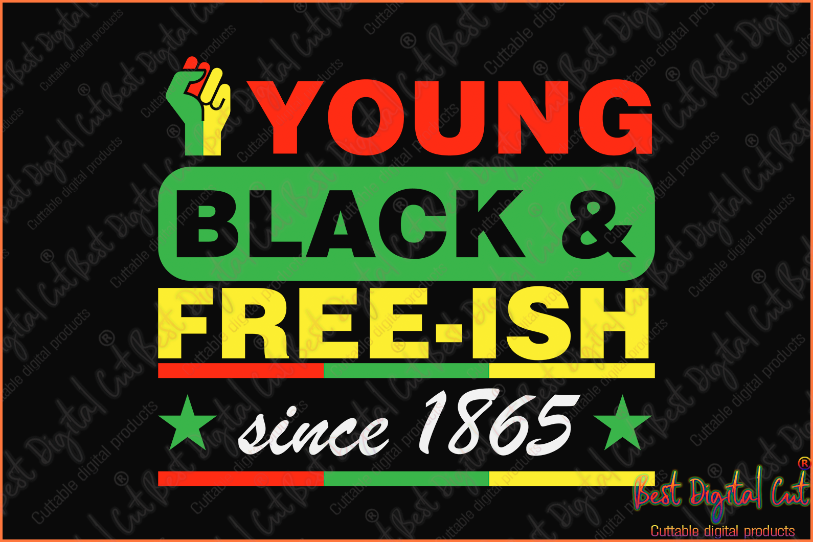 Young black free ish since 1865 svg,Juneteenth 1865 svg,freedom day svg,jubilee day svg,American holiday,June 19th svg,1776 July 4th,emancipation day svg,independence day svg,black African hands,American pride gift,black lives matter shirt,