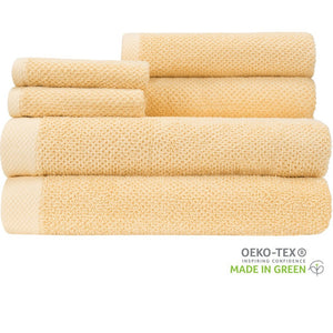 Load image into Gallery viewer, Bamboo and Cotton Naturally Anti-Microbial 6 Piece Towel Set - TowelsbyGUS