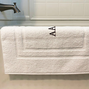New Made In The Usa Monogrammed Bath Mats Towels By Gus