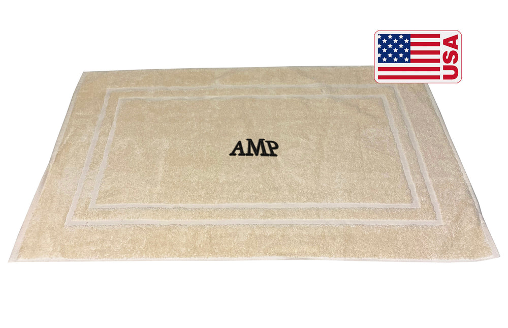 Made in the USA Monogrammed Bath Mats - Towels by GUS