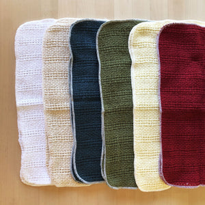 Made in the USA 100% Cotton Kitchen Towel - Set of 2 - American Made Kitchen Towels - American Home USA -  6 Colors