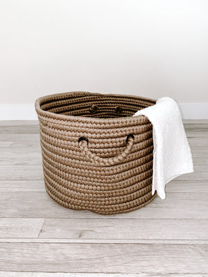 Made in the USA Baskets - Solid - Beige/Cafe Tostada - American Home USA