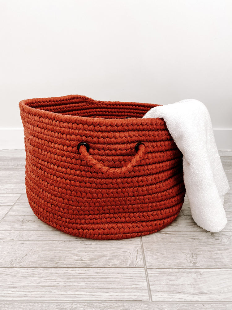 Made in the USA Baskets - Solid - Red - American Home USA