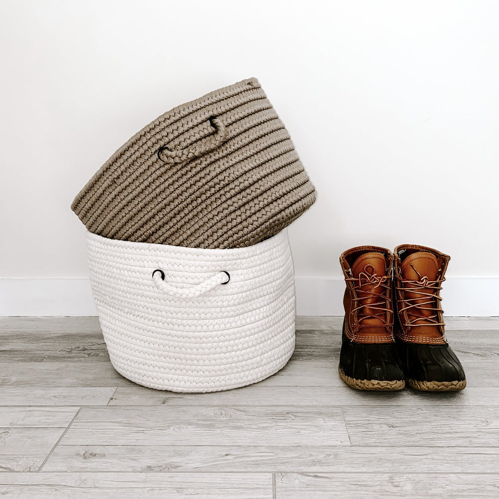 Made in the USA - Solid Storage Basket