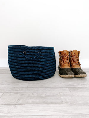 Made in the USA Baskets - Solid - Blue - American Home USA