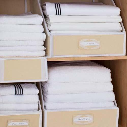 Linen Closet Storage Collection, Brushed Cotton - Buy 2 Get 1 Free - TowelsbyGUS