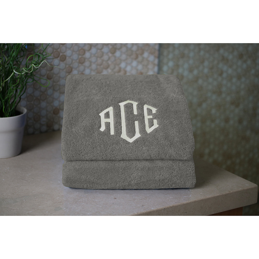 Made in the USA 100% Cotton Personalized Monogrammed Towel Collection