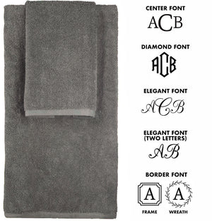 New! 100% Made in America Personalized Monogrammed Towels - TowelsbyGUS