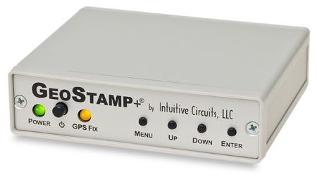 GeoStamp+® (with cigarette plug, wall power supply, PC null modem cable)