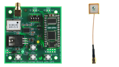 OSD-GPS+ with GPS Carrier Board (Internal Antenna)