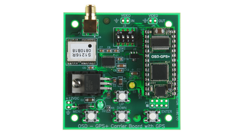OSD-GPS+ with GPS Carrier Board (no Antenna)