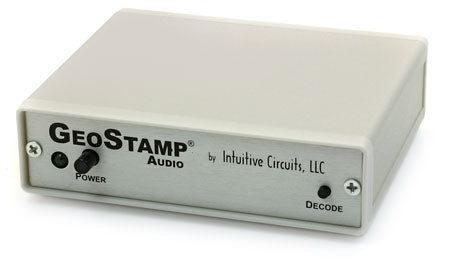 GeoStamp® Audio