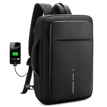 Load image into Gallery viewer, Anti thief USB Charging Men Backpacks