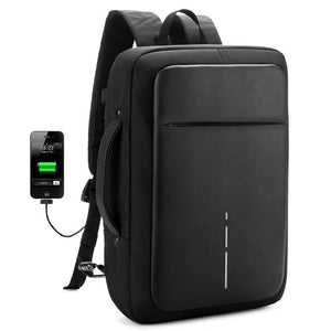Anti thief USB Charging Men Backpacks