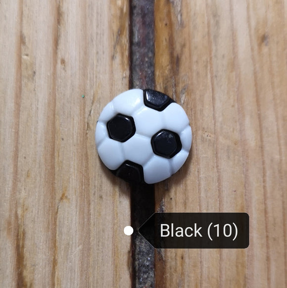 Novelty football buttons (CN20)