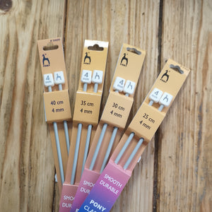 Pony Knitting Needles - lengths 25-40 cm
