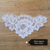 Lace Modesty Panels