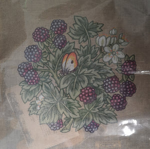 Twilleys Tapestry Kit - Butterfly/Blackberries