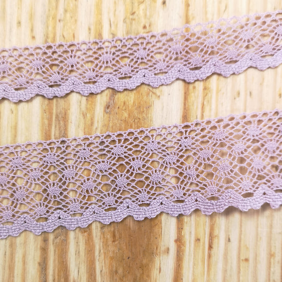 Delicate Stephanoise Lace - Pink