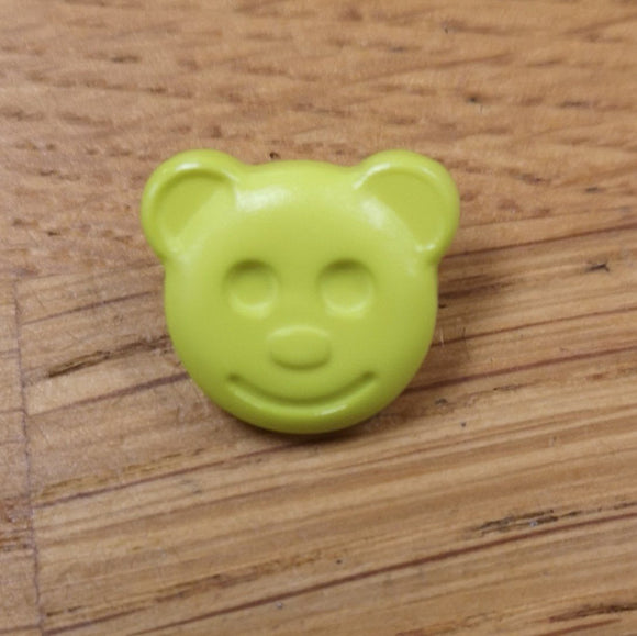 Bear Face Shank Button