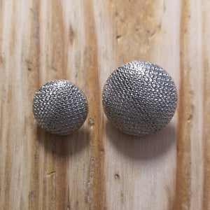 Button - Textured Metallic Shank Button