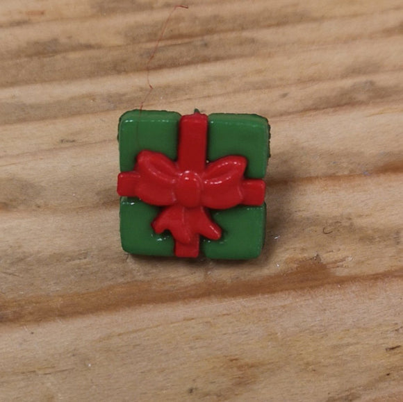 Buttons - Gift Button Red/green
