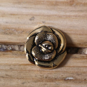Buttons - Gold Rose Buttons