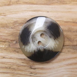 Buttons - Mid-brown Three-tone Button