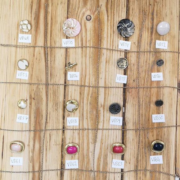 Buttons - Vintage Button Collection 3
